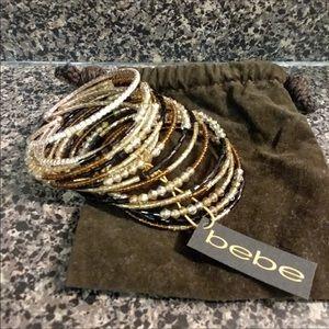 BEBE bracelets new w tags